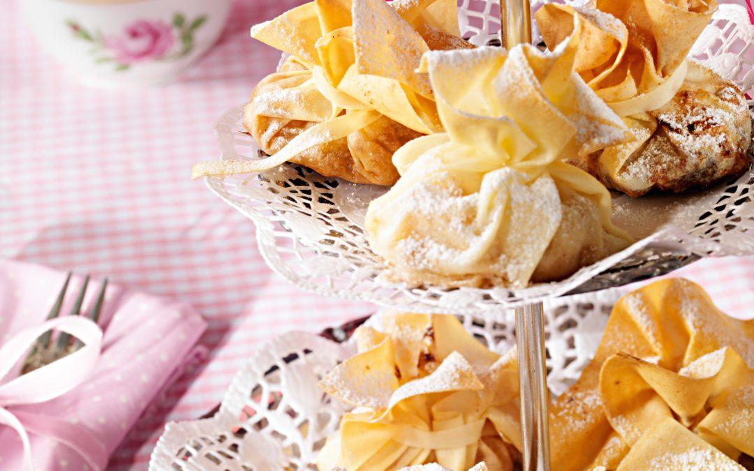 Apfelstrudeltascherl mit Herbaria Sissis Sünd