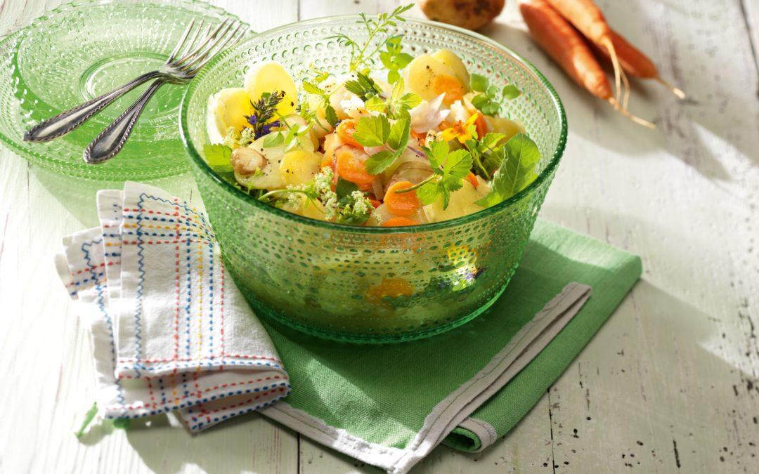 Wilder Kartoffelsalat mit Herbaria Querbeet