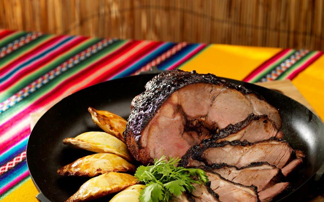 """""""Mapuche"""" Lamm-BBQ mit Korianderöl mit Herbaria Mapuche Feuer"""
